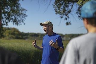 Ken Petersen, professor of biological sciences