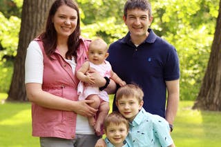 Chris Pappadackis '08 and his family live in Willmar, Minnesota.