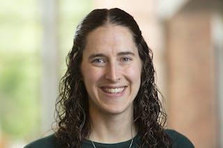 Professor of Biological Sciences Sara Wyse '05