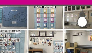 """In Nichole Olsen's classroom, everything has a place and a purpose. """"Every part of the design is by intention,"""" she says. """"When you walk in, it has a calming effect."""""""
