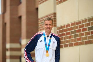 Bethel Head Track and Field Coach Andrew Rock