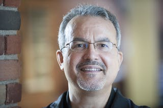 Ruben Rivera, vice president for diversity, equity, and inclusion and history professor