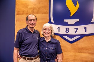 Carl and Mary Schmuland have invested their time, talents, and treasure in Bethel students for more than 20 years.