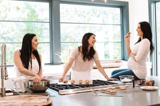 """""""At the end of the day we're all wives, moms, and sisters,"""" Lunski says. """"We tried our products, and we thought, 'This is the kind of pasta that we want to eat and the kind of food that we want to feed our families.'"""""""