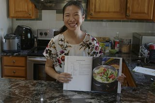 Thanh Nguyen '21 created a cookbook to celebrate and honor the women in her family for her senior art and design project.