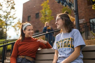 Two Bethel students
