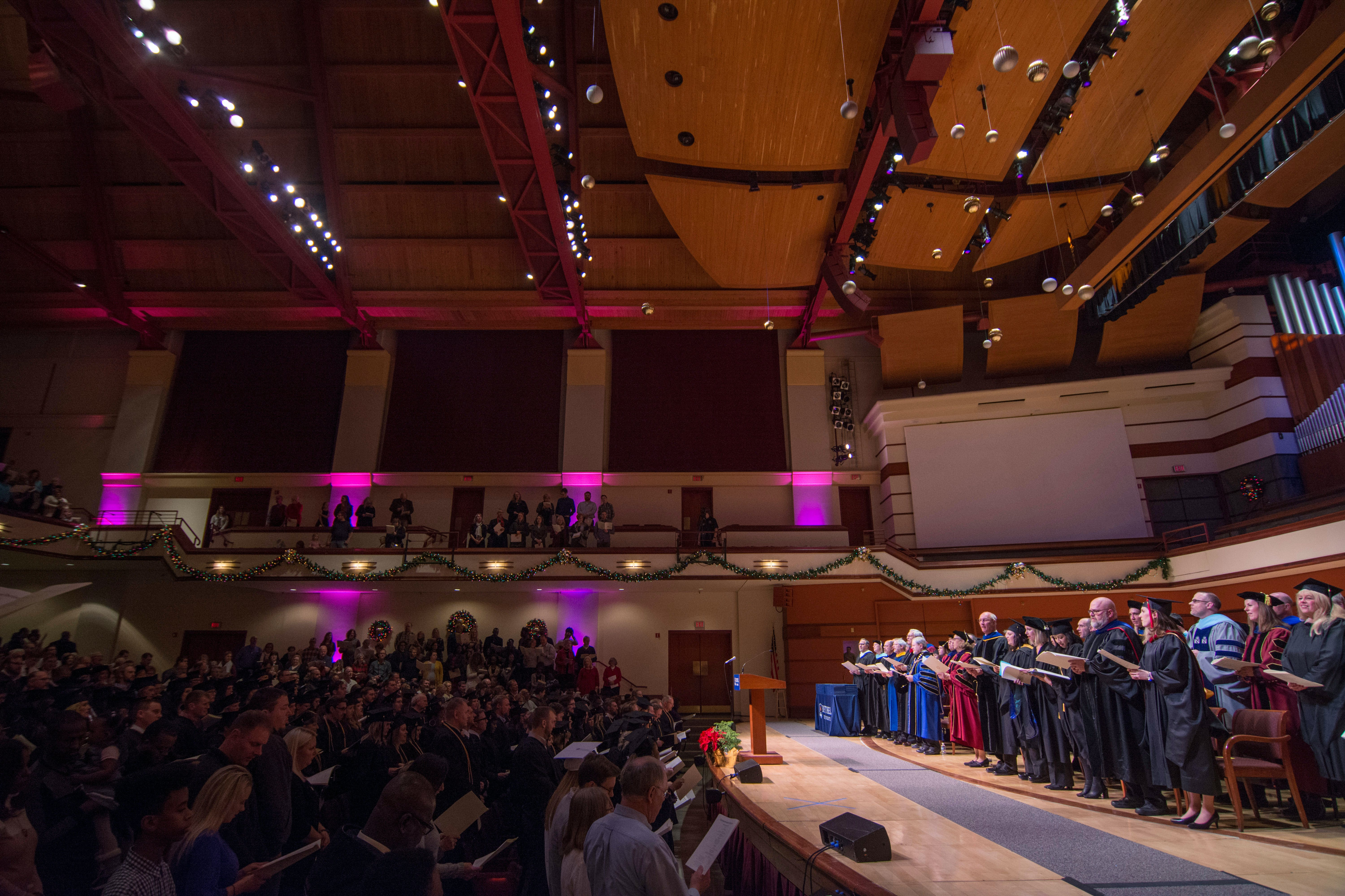 Winter Commencement Celebrates First Adult Undergrad Accounting Class