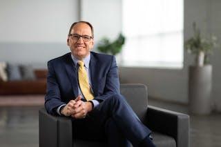 Ross Allen, president of Bethel University.