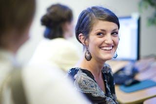 Bethel Seminary Student Smiles