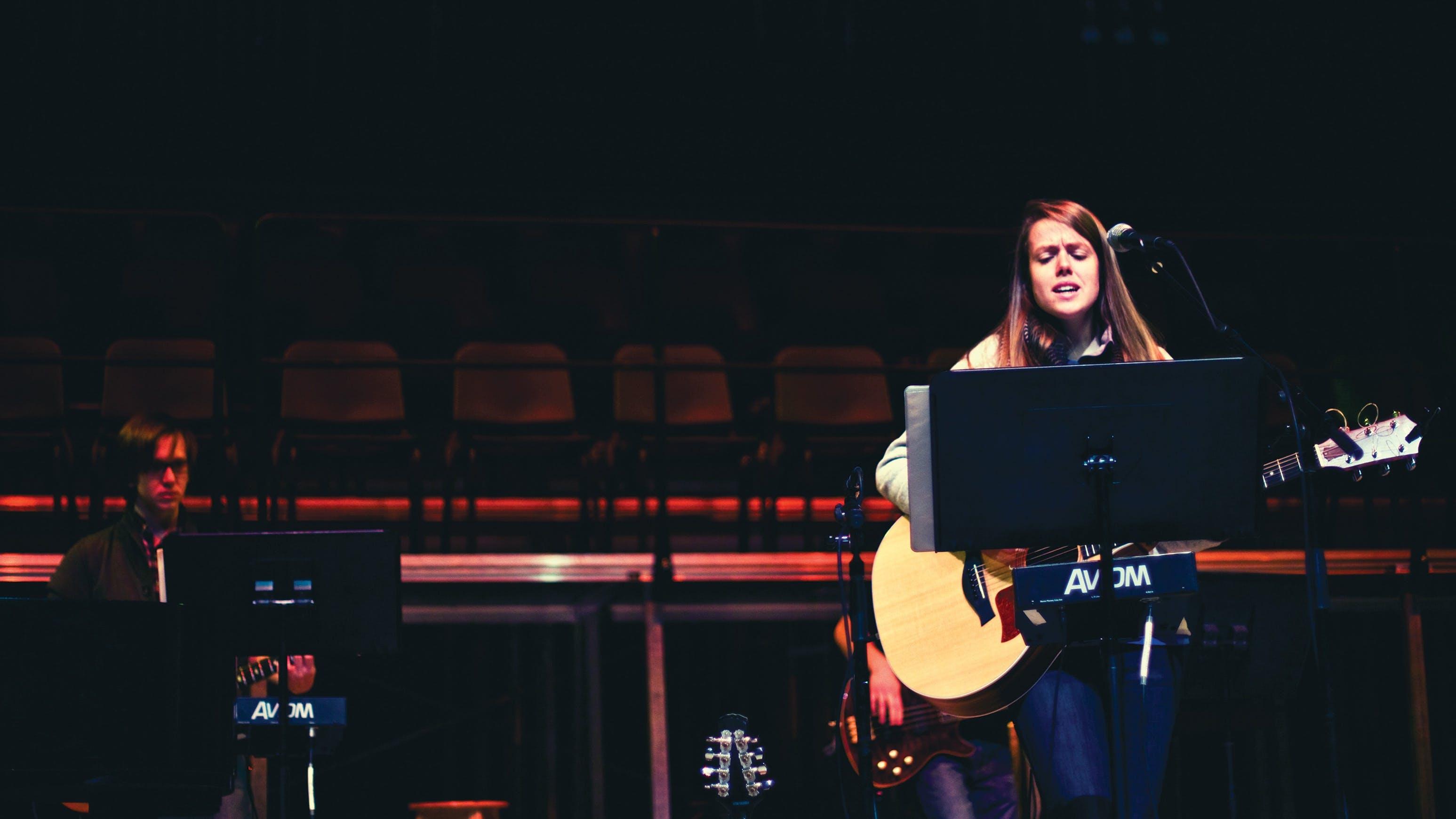 Student-led worship at Bethel University.