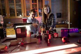 Laser lab work