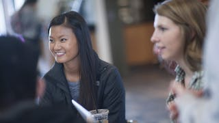 Bethel students talking