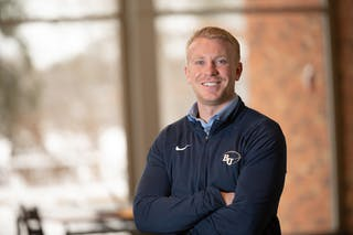 Adam Hippe, Bethel University admissions counselor