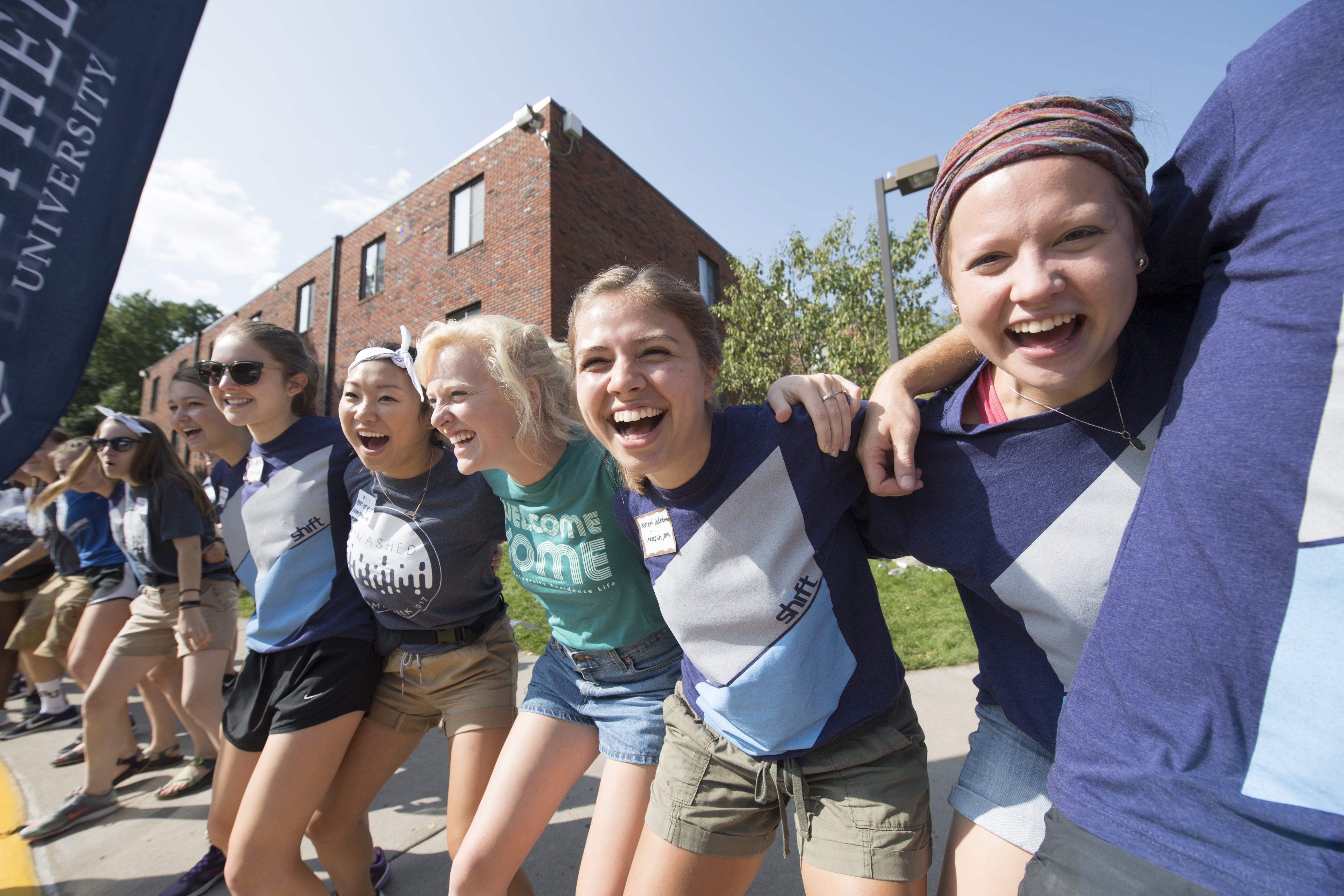 Welcome week on freshman hill