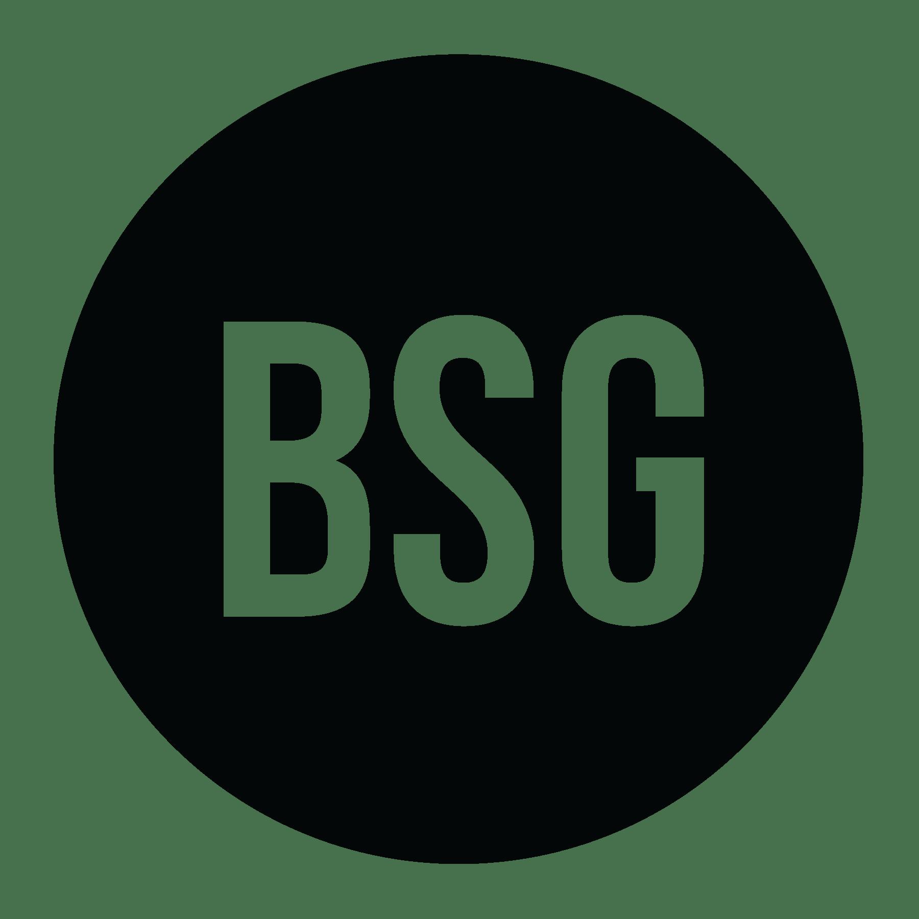 BSG Circle Logo Black
